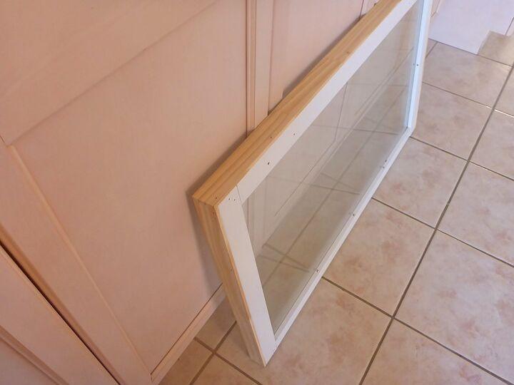 Trimmed  & sanded frame