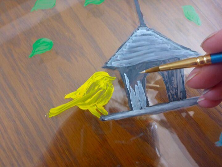 Rustic bird house