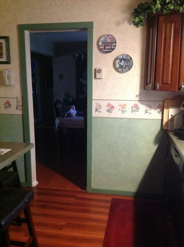 q how to update kitchen walls