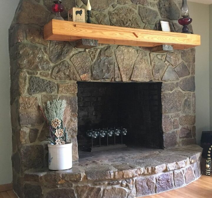 q how to testore my fireplace