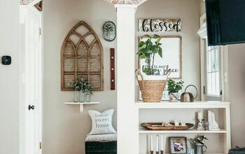 DIY Faux Brick Arches