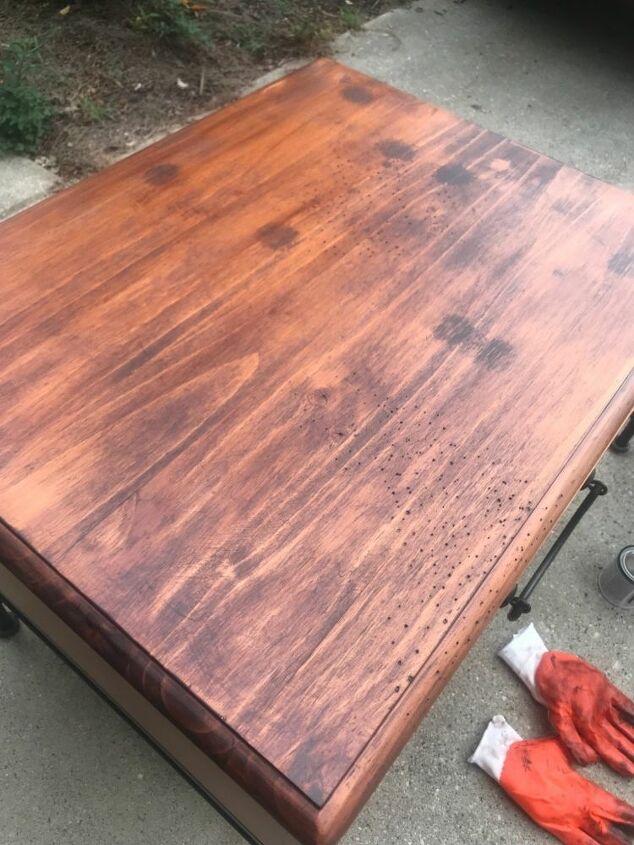 refurbished end table