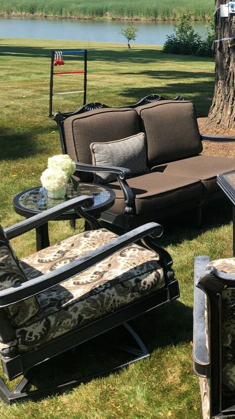 q how do i restore my outdoor furniture from sun damage