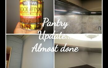 Pantry Update... Almost Done
