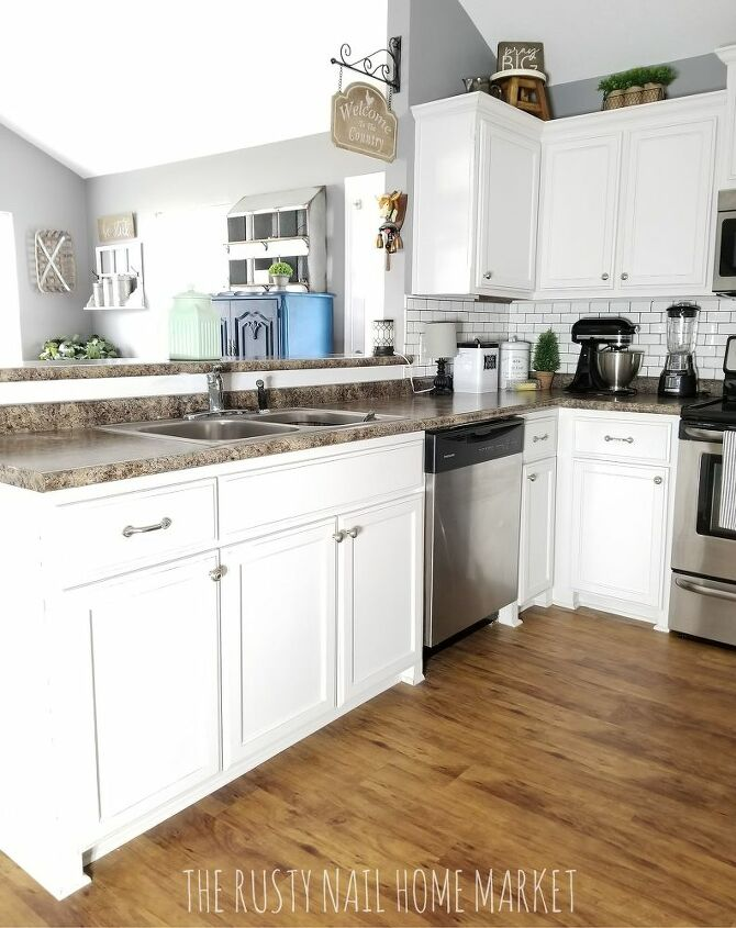 How To Paint 62 Diy Kitchen Cabinet Makeover Chalk