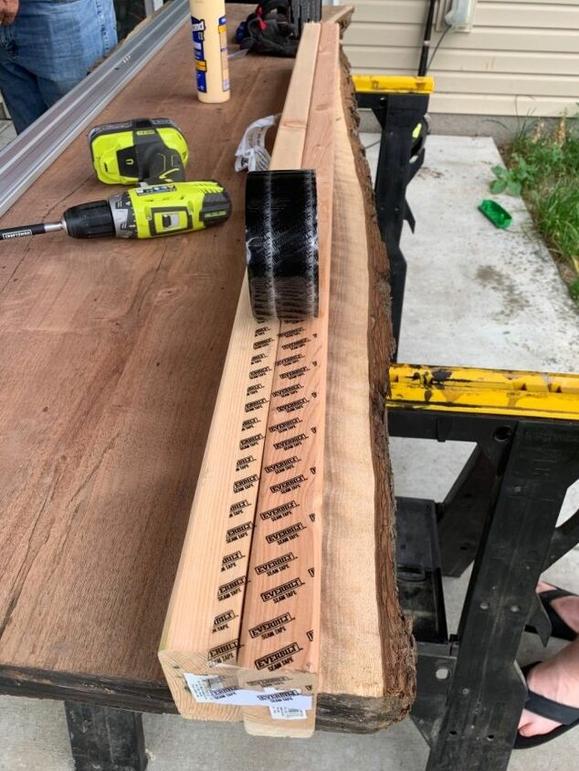 how to make your own live edge table