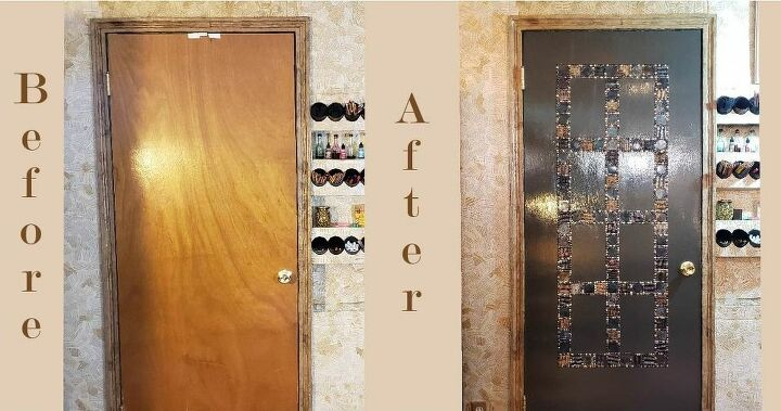 custom door craft room makeover extreme upcycling