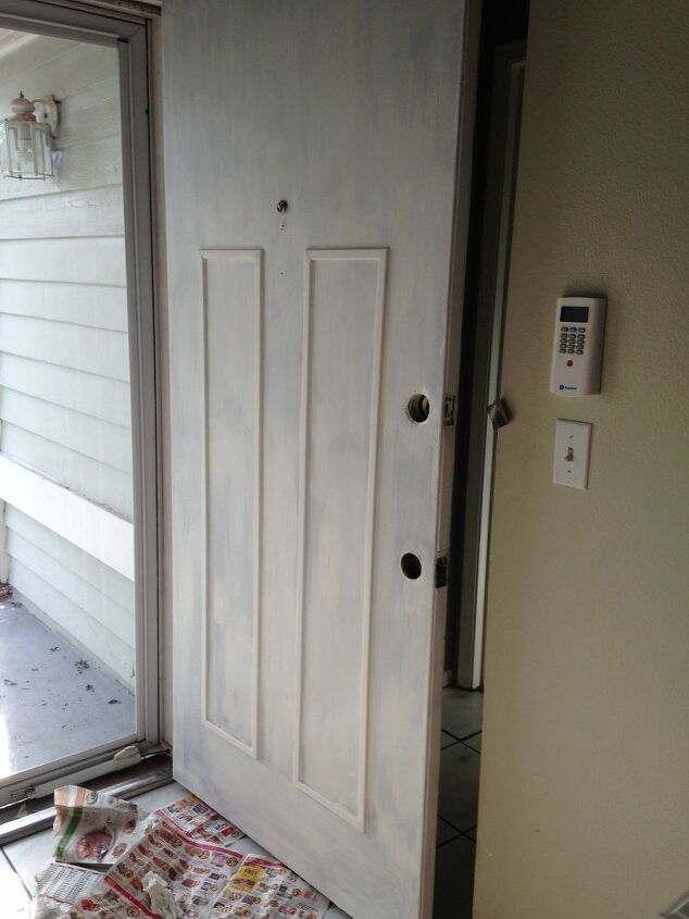 ugly entry door update