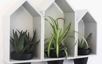 How to Make Hanging Wall Planters