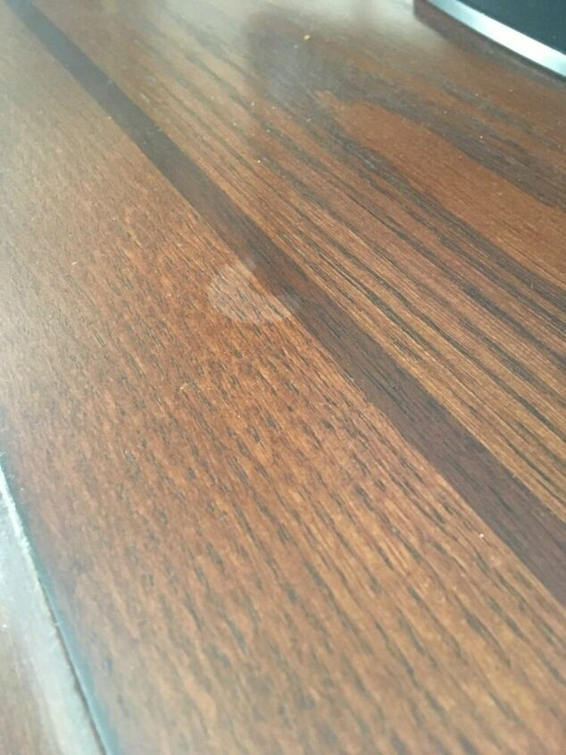q how do i remove this wallflower oil from the wood
