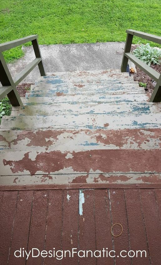 replacing an old deck