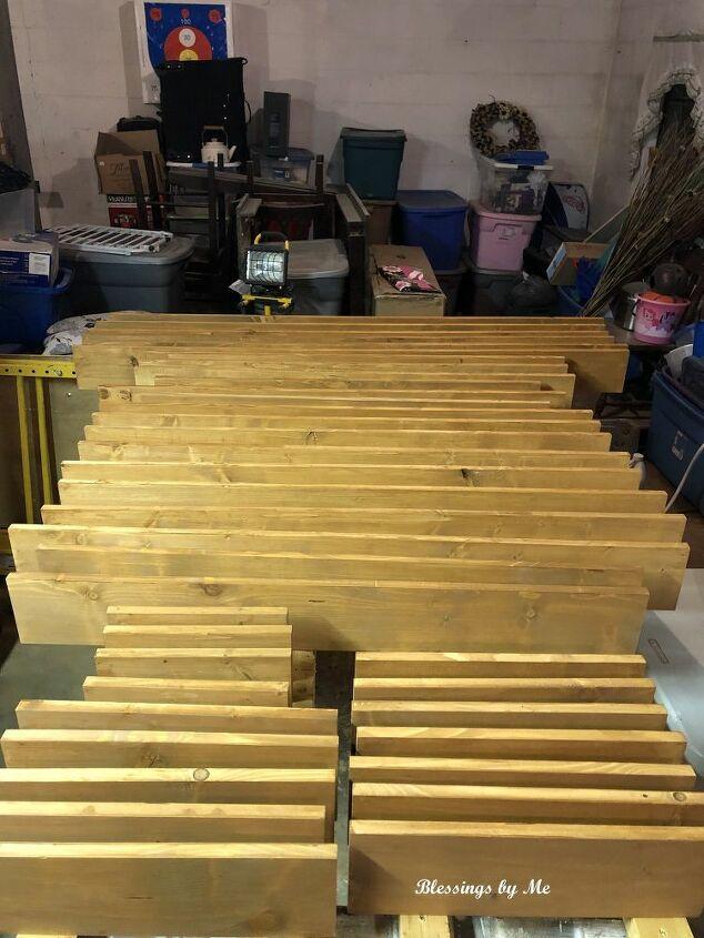diy rustic wood shutters