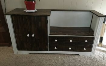 Dresser Repurposed Into a Storage Bench
