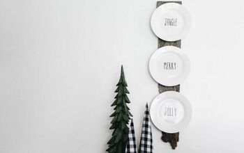 DIY Plate Display Using Only TWO Materials