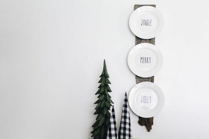 diy plate display