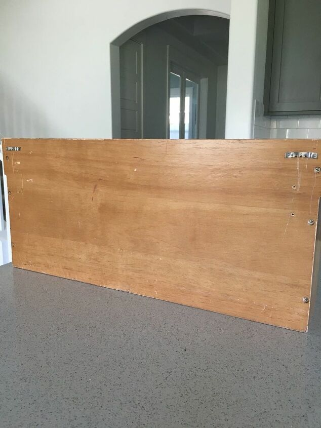 transform wood into galvanized metal