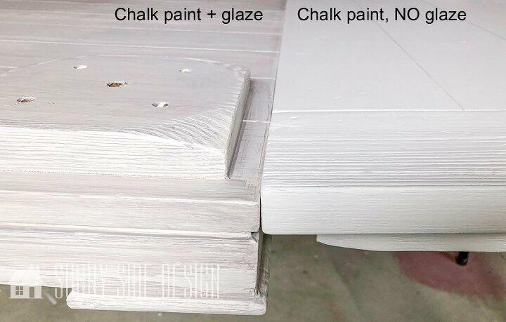 how to glaze to create a coastal look