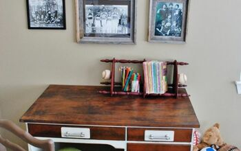 Old Bookshelves Become Fresh and New