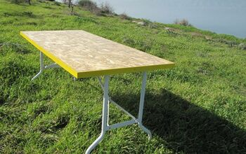 OSB Folding Table
