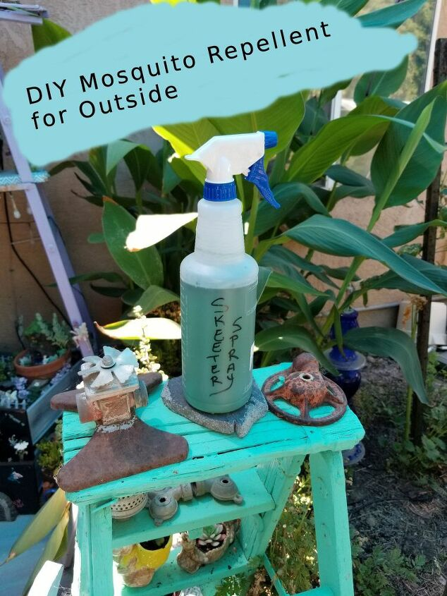 keep mosquitoes away with this diy spray