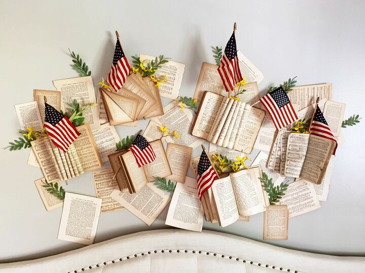 s weekenddiy 15 easy awesome projects you can do this weekend, Here s one you don t see every day Vintage book wall decor