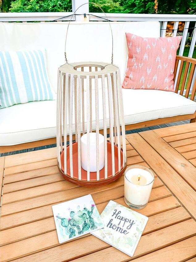 s 22 ways a little bit of wood goes a long way inside your home and out, DIY Balsa Wood Lantern