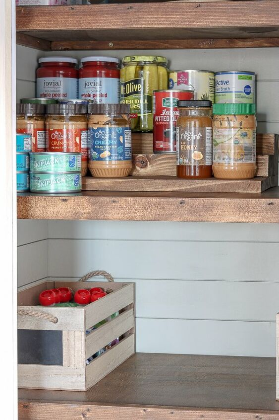 s 17 ways to get more space in your home today marie kondo approved, Add a pantry with perfectly pretty can storage