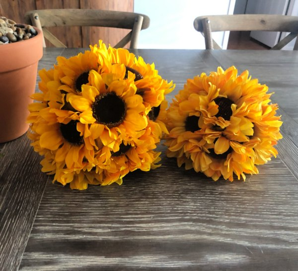 sunflower decorations for your home and table