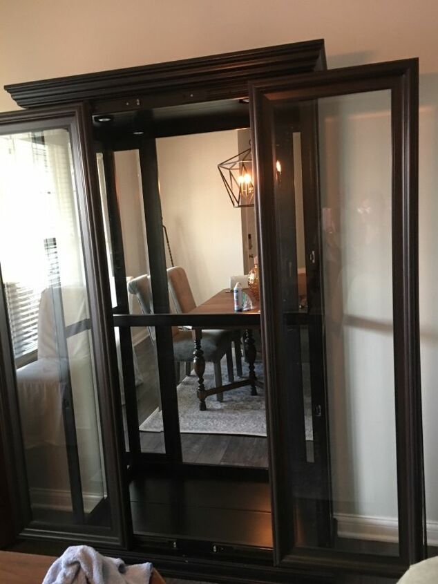 q suggestions on what to replace glass shelves in curio cabinet