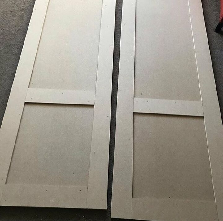 Doors made from MDF