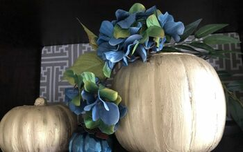 DIY Glam Pumpkins for Fall