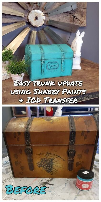 dated trunk update using paint iod transfer and revax