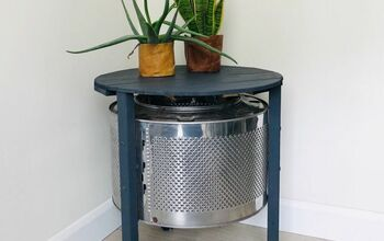 DIY Coffee Table Made With a Washing Machine Drum