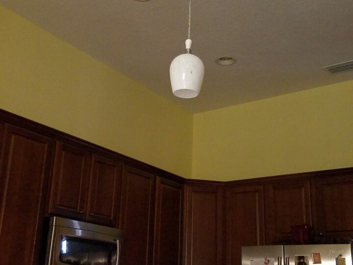 q what can i do with the empty space above my cabinets