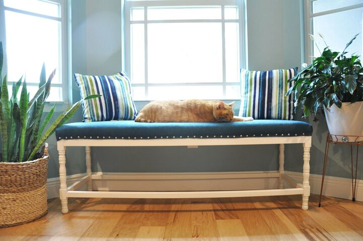 s 19 fabulous ways to add extra seating to your home, Bench Makeover