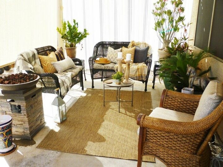 s 17 reasons why this wicker trend isn t going anywhere, Patio Makeover