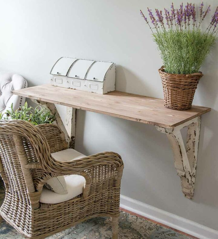 s 17 reasons why this wicker trend isn t going anywhere, DIY Corbel Table