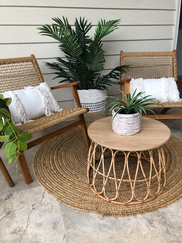 s 17 reasons why this wicker trend isn t going anywhere, Basket Coffee Table Hack