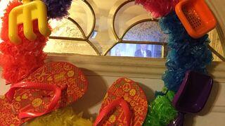 q wreath ideas
