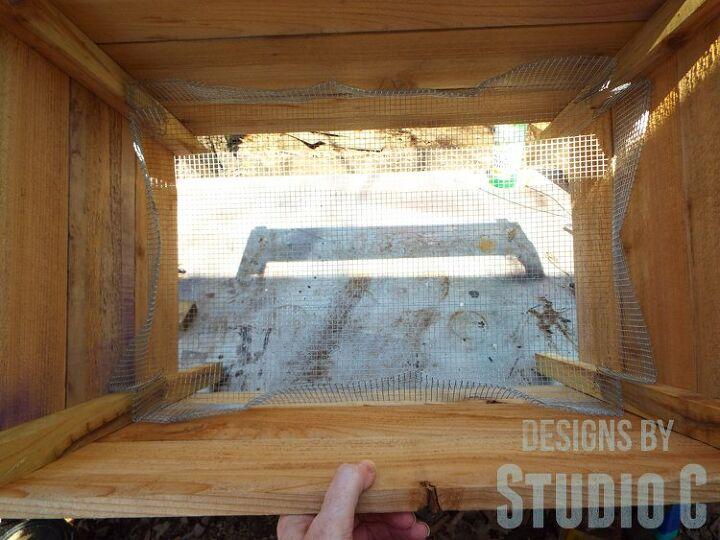 easy to build stencil planter boxes