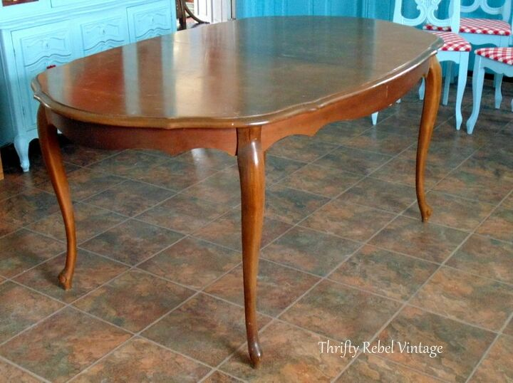 How To Make A Vinyl Tablecloth Kitchen Table Makeover DIY