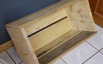 Cheap & Easy Farmhouse Crate