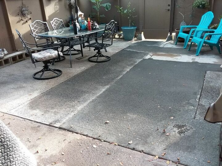 q patio disaster need a makeover