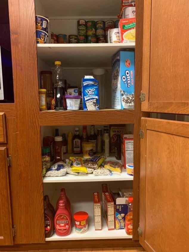 q pantry organizing
