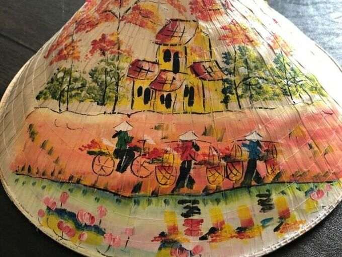 q how can i protect straw hat with acrylic painting from chipping