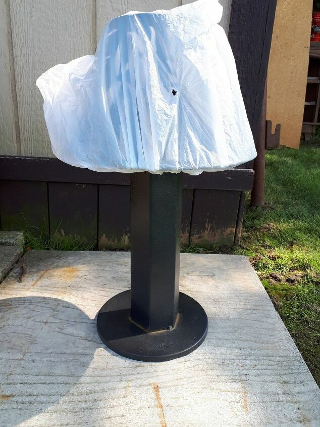 reviving an old solar table lamp