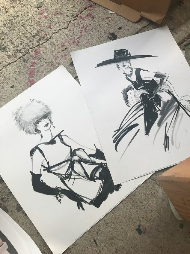 Choosing the right prints keeps me awake