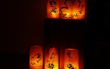 Easy Paper Bag Lanterns