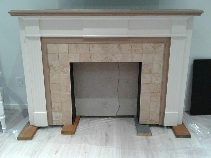 fireplace make over