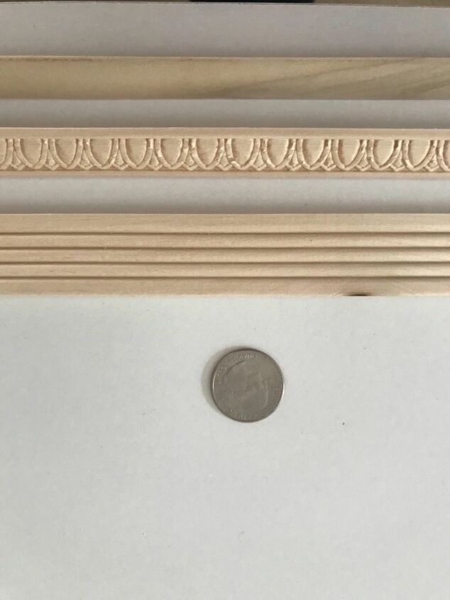 diy wall accent molding for 15
